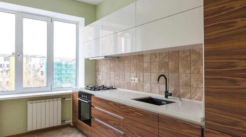 фото - фартук на кухне, плитка