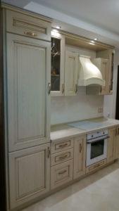 фото: кухня в бежевом цвете