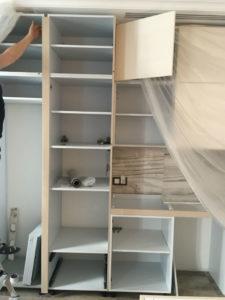 фото - перекрасить шкафы на кухне