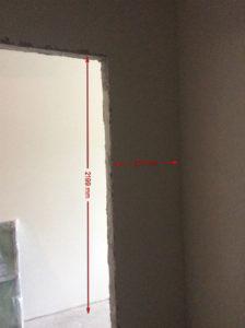 комната под гардеробную - размеры
