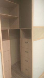 Наполнение для гардеробной комнаты