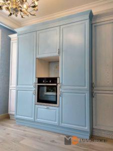 Высокие шкафы кухни