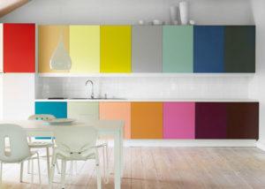 Фото: перекрасим кухонную мебель в любой цвет