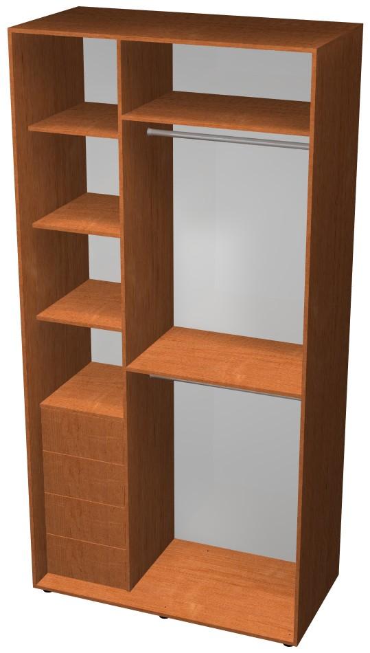 Готовый шкаф H1, макет