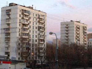 Девятиэтажка в Москве