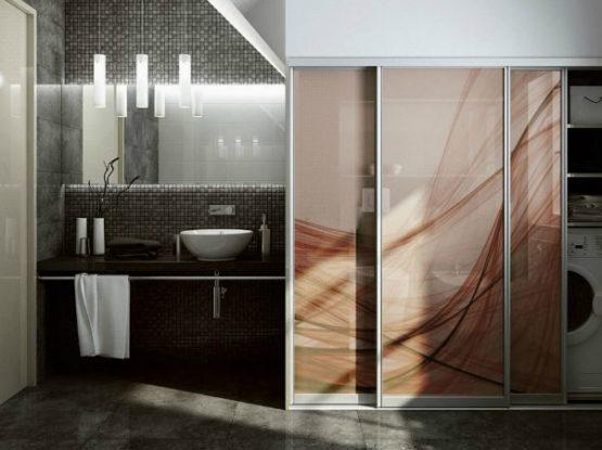 шкаф-купе в ванную