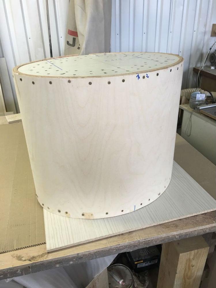 Процесс изготовления столика