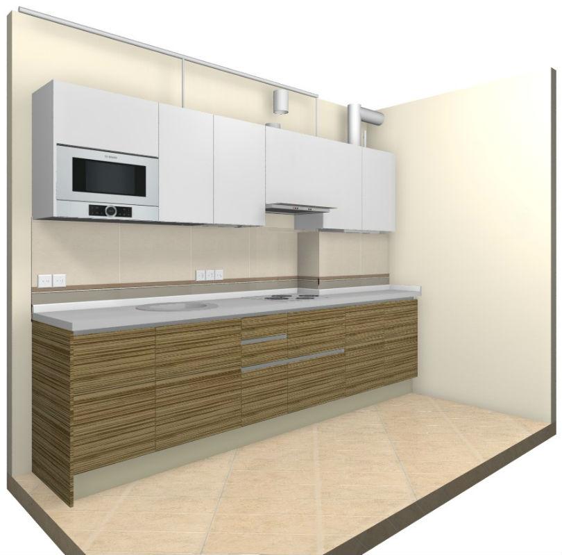 фото: 3д кухни, левая часть