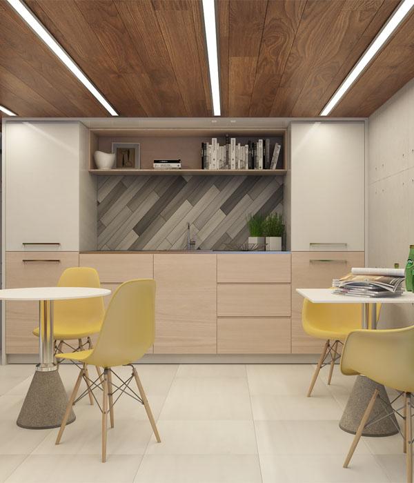 Кухня для офиса на заказ