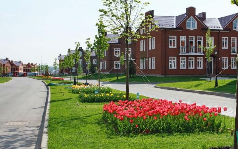 Коттеджный поселок Кембридж фото