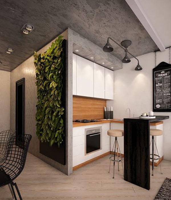 Кухня для интерьера в стиле лофт фото