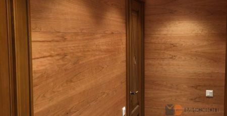 Стеновые панели из МДФ в коридоре фото