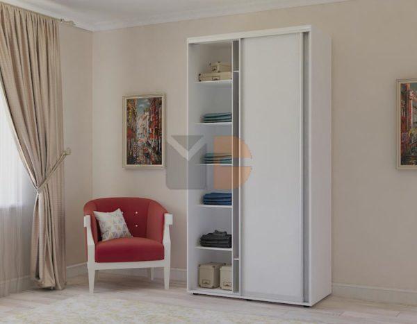 Готовый шкаф Н1 с открытой створкой