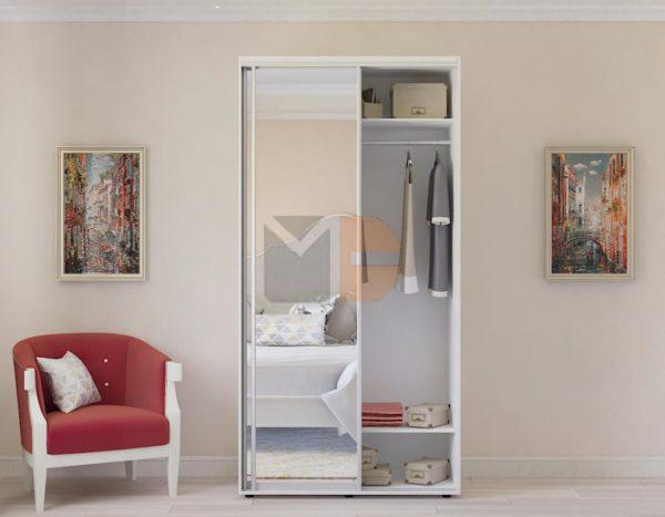 Готовый шкаф Н1 с зеркалом
