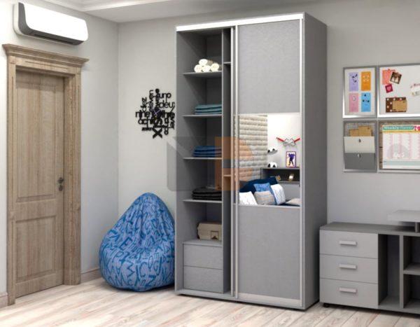 Готовый шкаф H7 левая открытая дверь