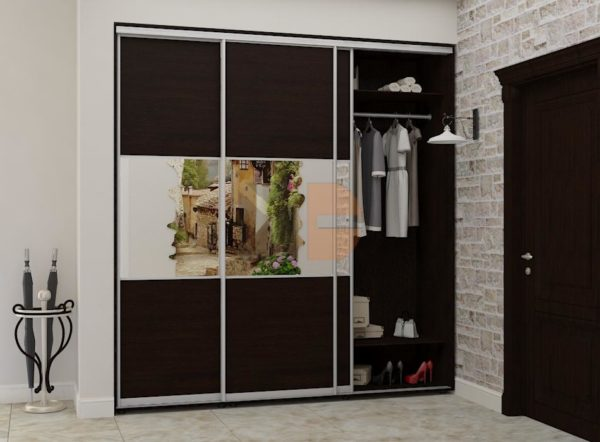 Готовый шкаф H3-10 двери