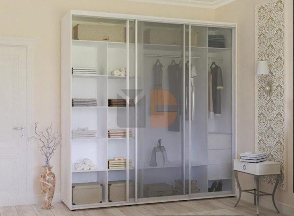 Готовый шкаф H3-12 двери стекло