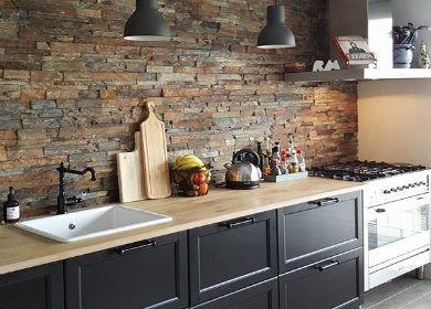 Кухни в стиле лофт от Микэвол фото