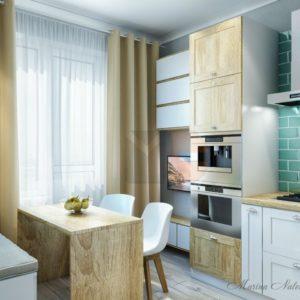 Кухня Скандинавия в Москве. Фото