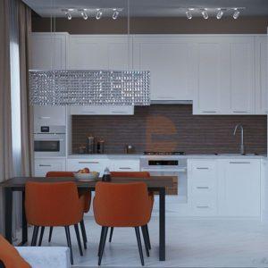 Кухня белая Нежность