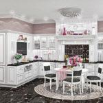 Кухня Афина Аргенто фото